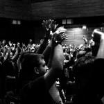 Flashmob-Übung.